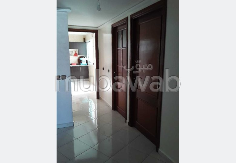 Apartment for sale in Maamora. Large area 140 m². Traditional Moroccan living room, Secured neighbourhood.