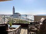 Appartements à louer à Casablanca Marina. 2 chambres agréables. Meublé.