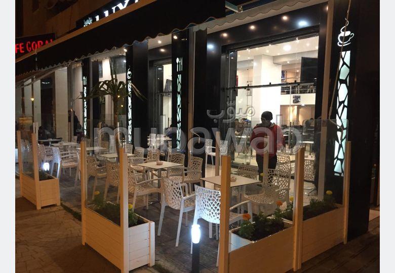 Café de luxe à vendre / route de rabat