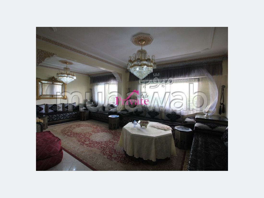 Location Appartement 130 m² QUARTIER HÔPITAL ESPAGNOL Tanger