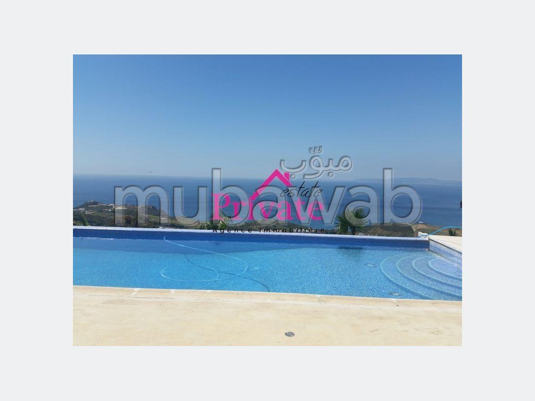 Location Villa 600 m² NOUINOUICH Tanger Ref: LA124