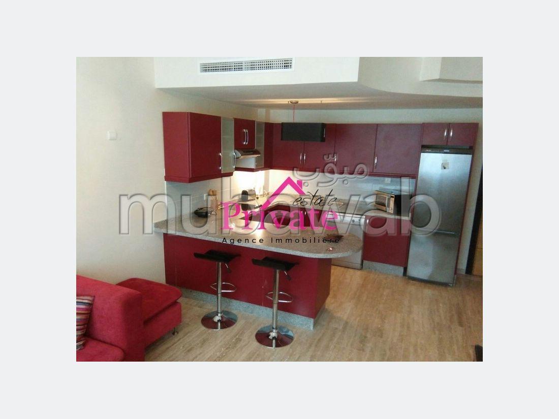 Location Appartement 70 m² CORNICHE Tanger Ref: LA101