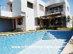 Location villa avec piscine à Rabat