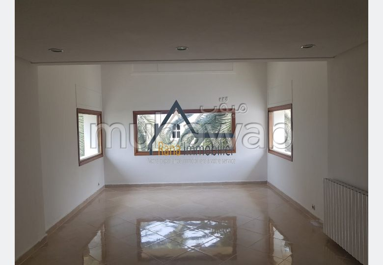 Villa usage bureau à louer sur l'Agdal