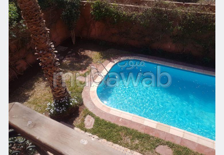 Magnífica villa en alquiler en Route d'Agadir - Essaouira. Dimensión 400 m². Servicio de conserjería, chimenea.
