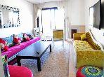 شقة رائعة للإيجار بكليز. المساحة الإجمالية 106 م². حديقة وشرفة.
