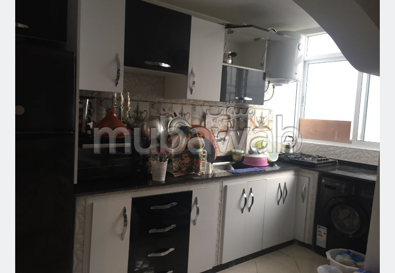 Apartments for rent. Area of 1 m². Furnished Moroccan living room, General satellite dish system.