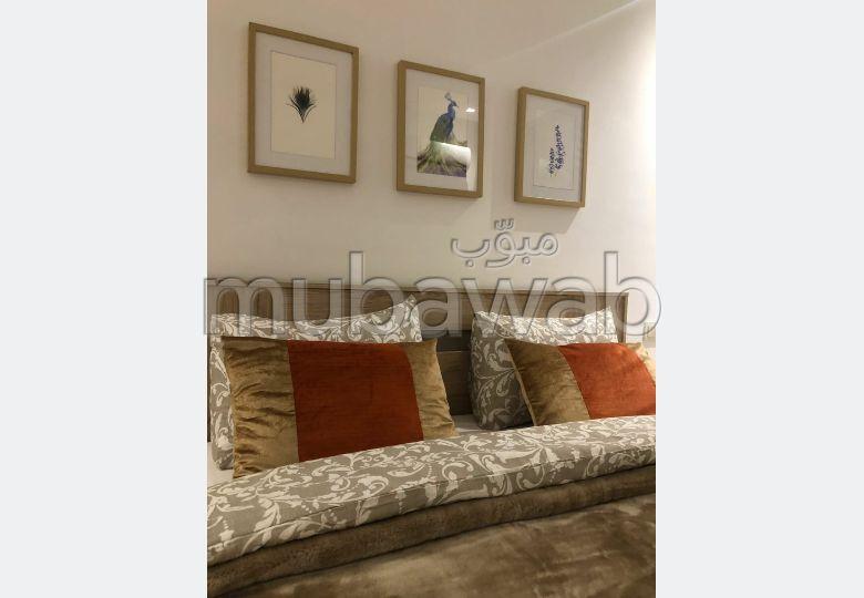 Superbe appartement à louer à Marrakech. 2 chambres. Bien meublé