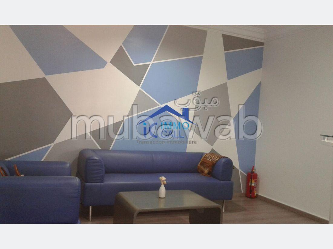 en LOCATION Plateau bureaux 145 m² à Hay Riad