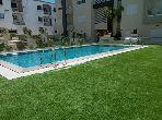Triplex avec jardin et piscine aux J de carthage