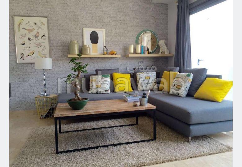 Bel appartement en location à Gauthier. Surface totale 50 m². Bien meublé