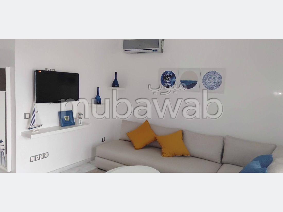 Rent this apartment. Area 48 m². Furnishings.