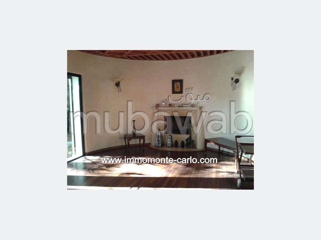 Location villa meublée avec piscine à Hay Riad