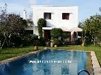 Location villa avec piscine à souissi