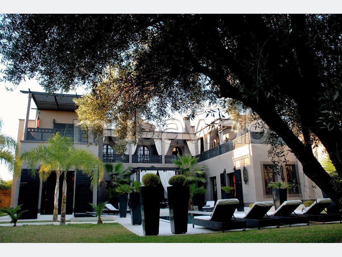 Superbe Villa pleine de charme située sur la route de l'Ourika