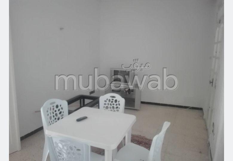 A LOUER un appartement meublée S+3 au RDC