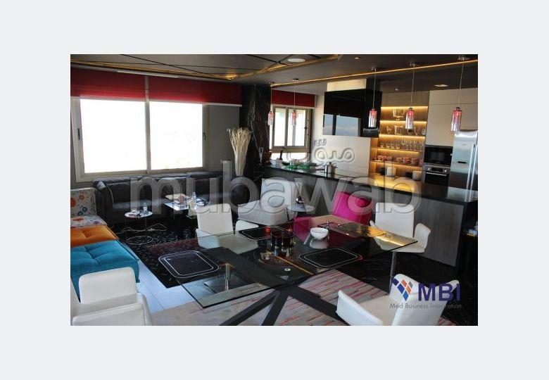 Appartement meublée frontal mer à Tanger