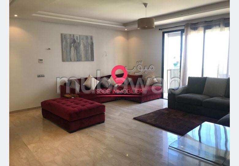 Appartement meublé à louer à prestigia – Hay Riad