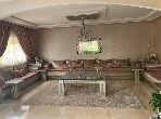 منزل رائع للبيع بطنجة. 3 قطع مريحة. الراحة مع مكيف الهواء و مدفأة.