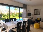 Location long terme magnifique villa à Dar Bouazza
