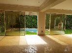 Splendid villa for sale in Ain Diab. 7 Living room. Swimming pool and fireplace.