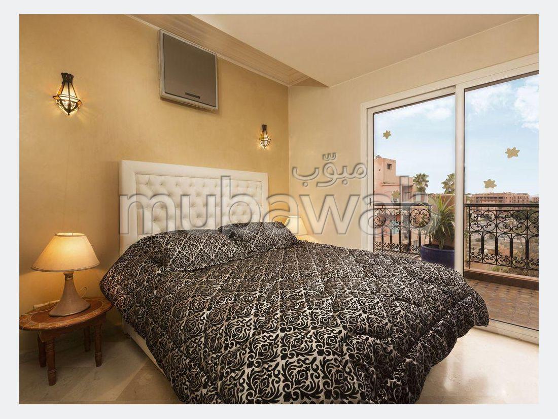 Piso en alquiler en Guéliz. 2 Hermosas habitaciones. Bien amueblado.