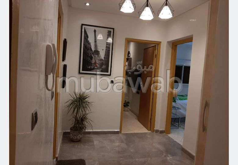 Very nice apartment for rent in Hay Mohammadi. 3 living areas. New furniture.