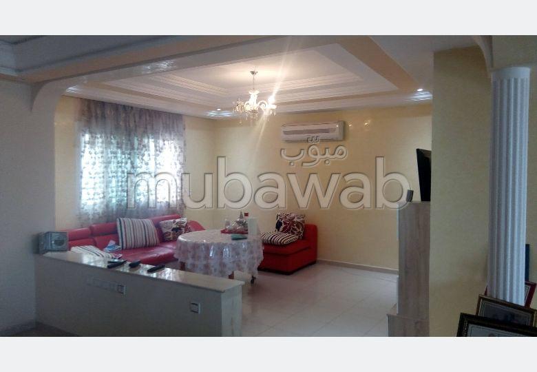 شقة رائعة للبيع بالقنيطرة. المساحة الكلية 202.0 م². مصعد ومرآب.