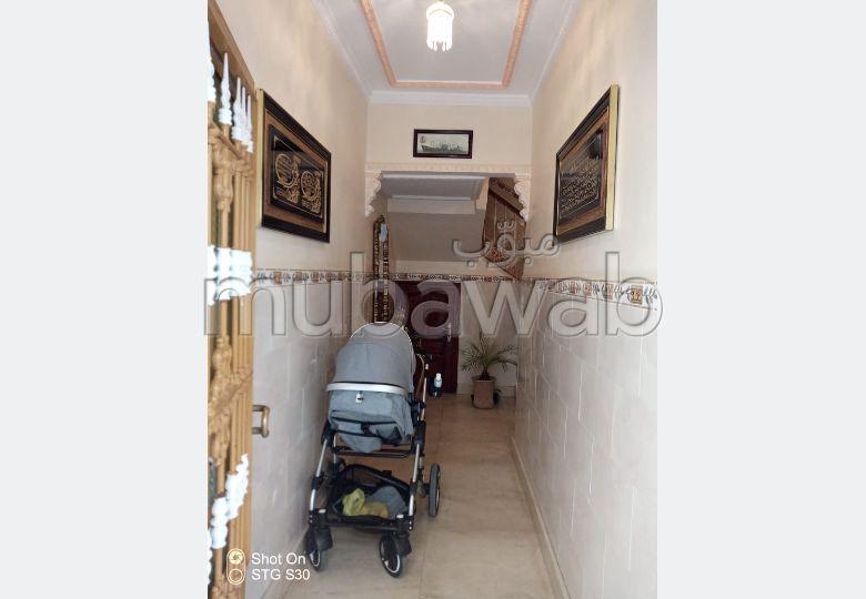 منزل رائع للبيع بطنجة. المساحة الكلية 85.0 م².