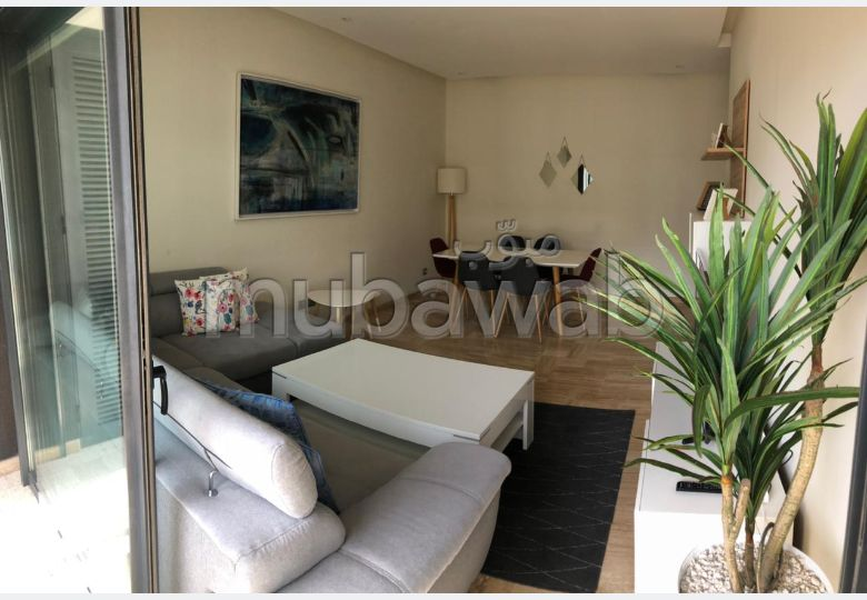 'Un appartement de luxe en location meublé à Casablanca Finance City