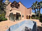 Marrakech Ecole américaine villa 4 chambres