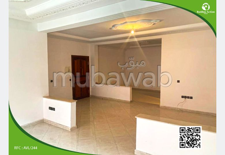 Find an apartment to buy in Maamora. Area 144.0 m². Lift and terrace.