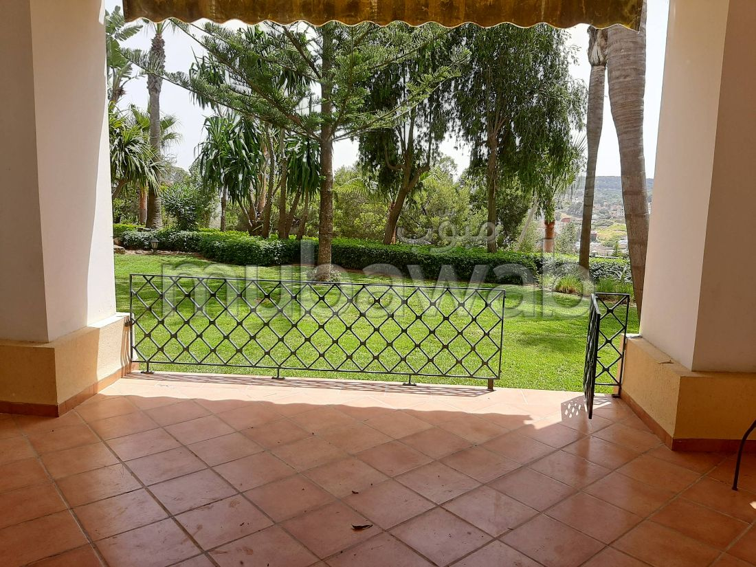 Rez de Jardin Vide à Louer – Golf Jbel el Kebir Tanger
