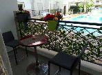 شقة رائعة للإيجار بمراكش. المساحة الإجمالية 77.0 م². مفروشة.