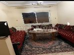 Louez cet appartement à Agadir. 2 chambres. Salon traditionnel et porte blindée