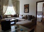 شقة رائعة للايجار بحي الشتوي. المساحة الإجمالية 55 م². مفروشة.
