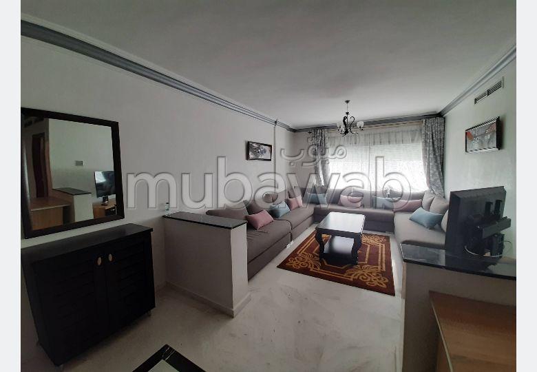 Appartement Meublé à Louer – Boulevard
