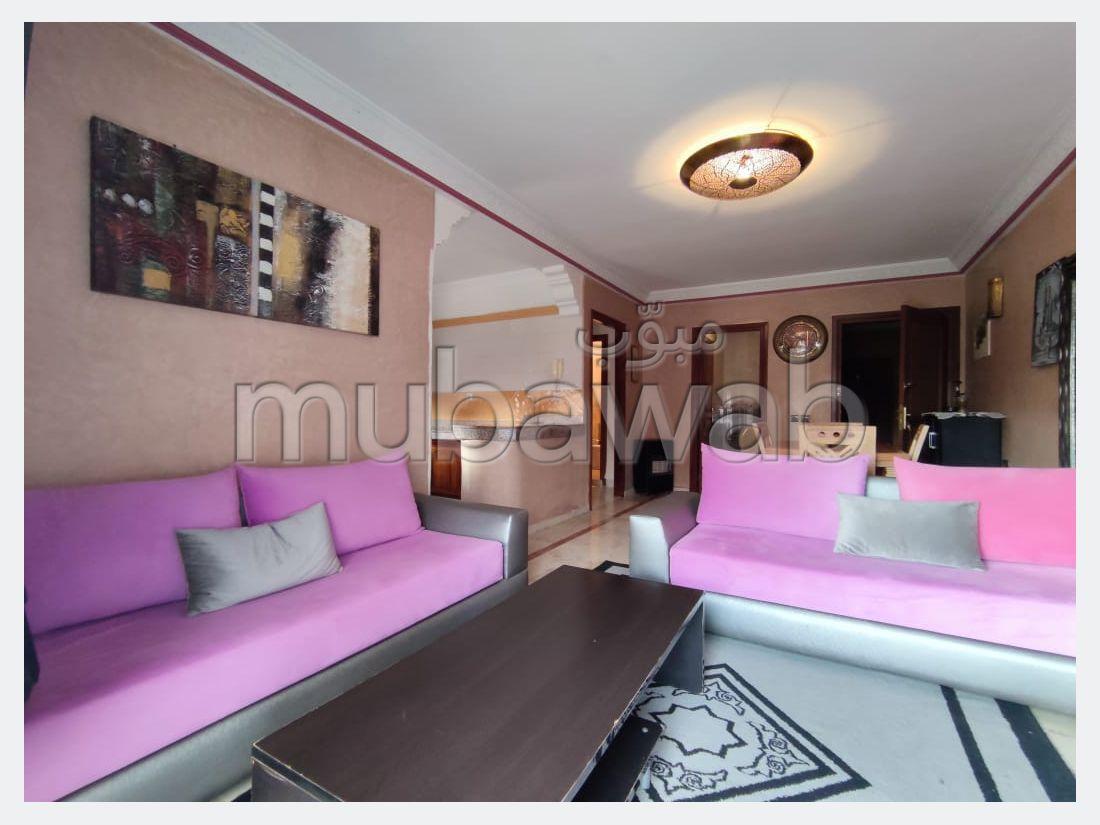 شقة رائعة للإيجار بمراكش. 1 غرفة جيدة. مفروشة.