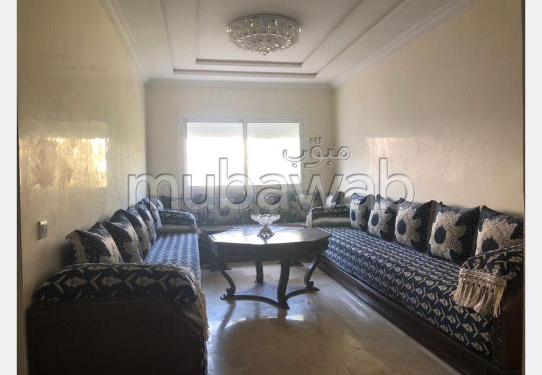 Location d'un appartement à Temara. 2 belles chambres. Bien meublé.