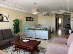 شقة رائعة للايجار بوسط المدينة. المساحة الكلية 115.0 م². مفروشة.