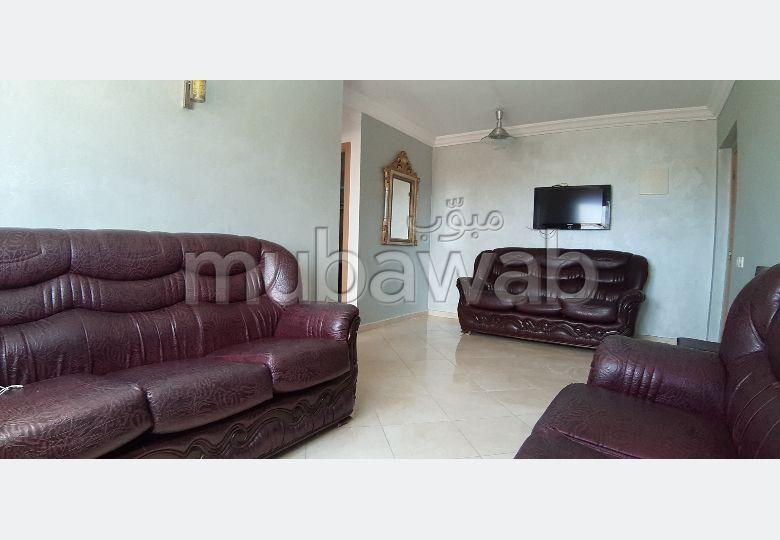 Vend appartement à Bouznika. Superficie 58.0 m². Porte blindée, antenne parabolique.