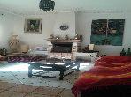 منزل رائع للكراء بالمحمدية. 10 قطع مريحة. شرفة جميلة وحديقة.