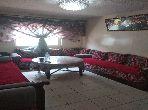 Appartement de vacances à louer à Casablanca. 1 belle chambre. Salon typique marocain, résidence sécurisée.