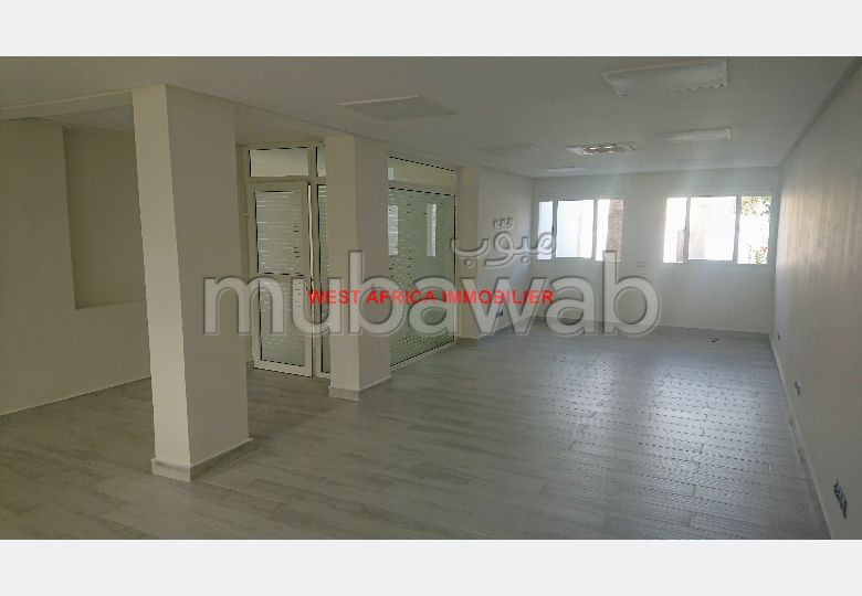 Offices for rent. Large area 500 m². Cellar, Large terrace.