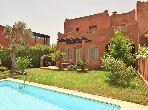 Marrakech Palmeraie superbe villa piscine à louer