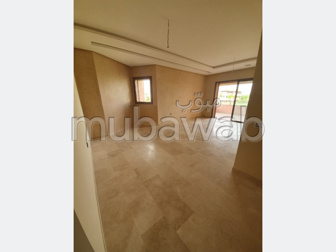 Sell apartment in Agdal. 3 Hall. Residence with swimming pool, Air conditioning.