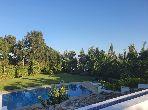 Appart Villa résidentiel 260m meublé avec piscine