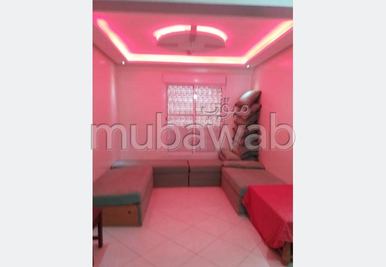 Louez cet appartement à Agadir. Surface de 85.0 m². Salon traditionnel et système d'antenne parabolique.