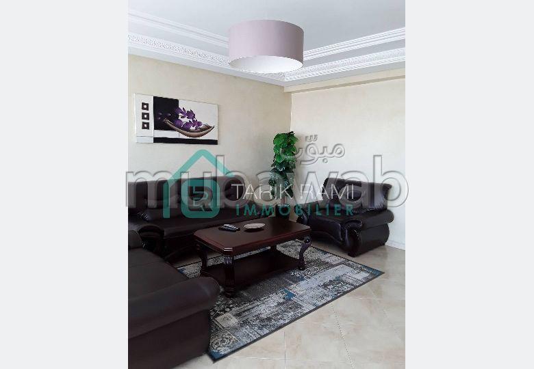 Appartement meublé avec terrasse à la location