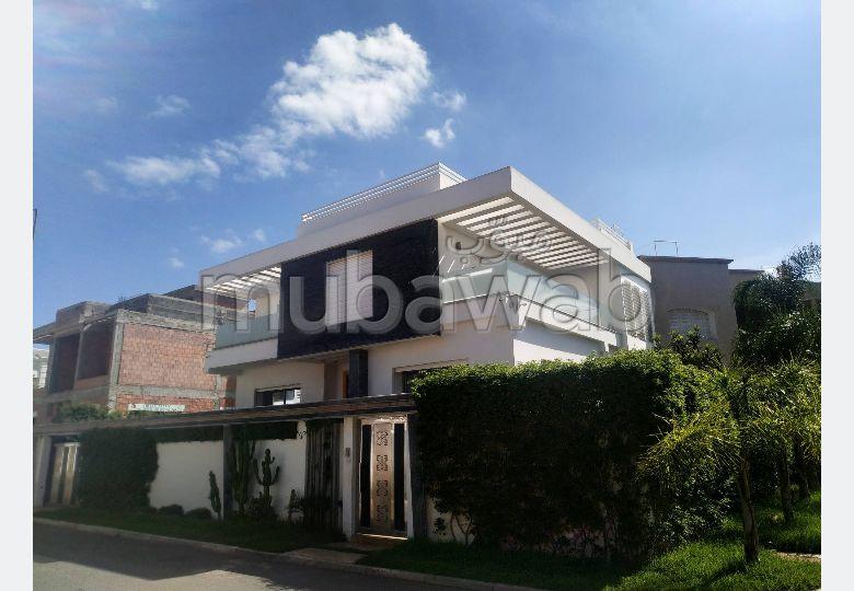 منزل ممتاز للبيع بالقنيطرة. 5 غرف ممتازة. صالة أصيلة ، طبق الأقمار الصناعية.